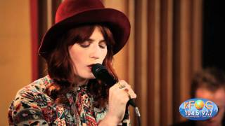 Florence And The Machine Never Let Me Go Live At KFOG Radio