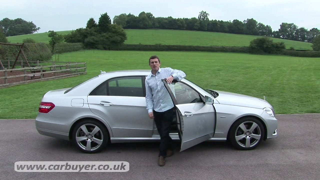 mercedes e class saloon 2009 2013 review carbuyer youtube. Black Bedroom Furniture Sets. Home Design Ideas