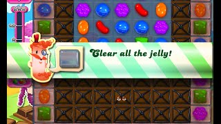 Candy Crush Saga Level 1076 walkthrough (no boosters)