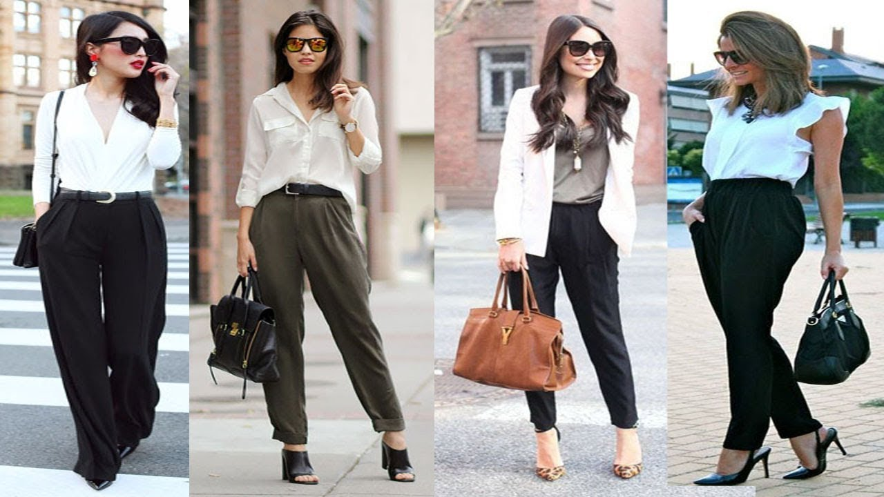 stylish business casual outfits ideas for women girls youtube