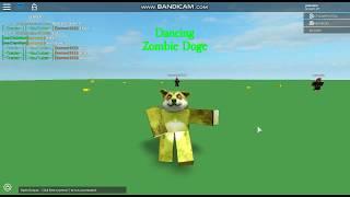 Roblox Script Showcase Episode #134 Dance Zombie Doge [LEAK]