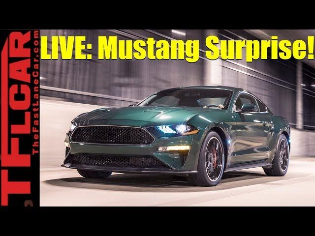 Old vs New: 2019 Ford Mustang Bullitt vs The Original 1968 Car