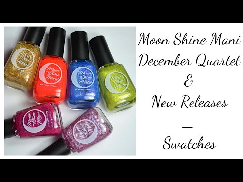 Moon Shine Mani December New Releases