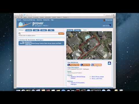 Prover - NZ Property Information