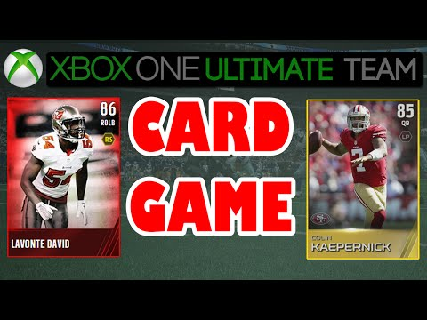 Madden 15 - Madden 15 Card Game - MY FIRST CARD GAME | Madden 15 Ultimate Team Card Game