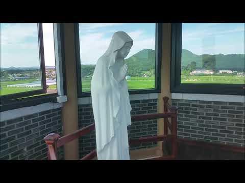 해미성지 팔각의탑 주님의 파수대-서산 해미읍성 순례길 코스