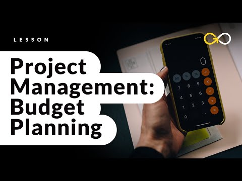 Project Management Budget Planning - Project Management Basics (lesson 9) - GoSkills.com