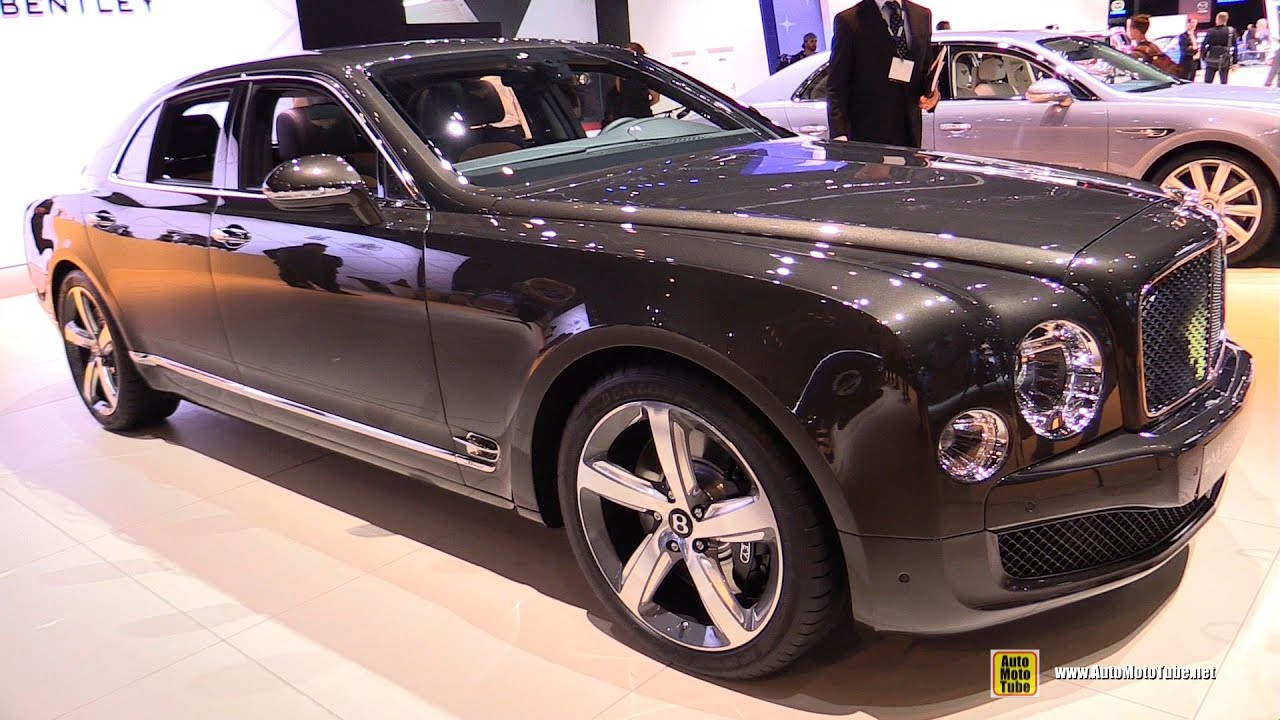 2015 Bentley Mulsanne Speed - Exterior and Interior Walkaround ...