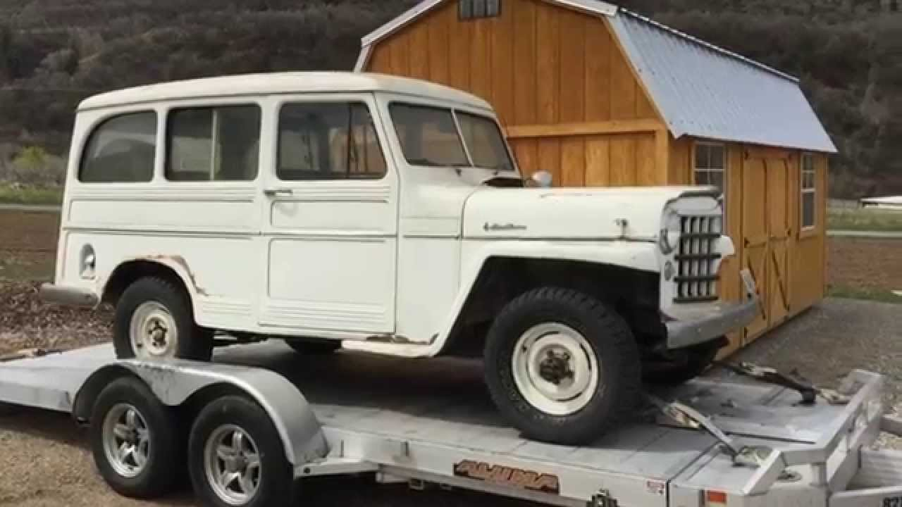1956 Willys Wagon - **ORIGINAL BARNFIND** Covered and garaged since 1984,  Everything Works!