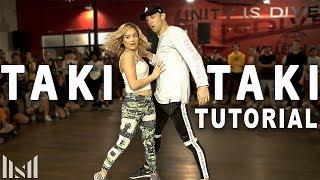 TAKI TAKI - DJ Snake ft Ozuna, Selena Gomez, Cardi B Dance Tutorial | Matt Steffanina & Chachi