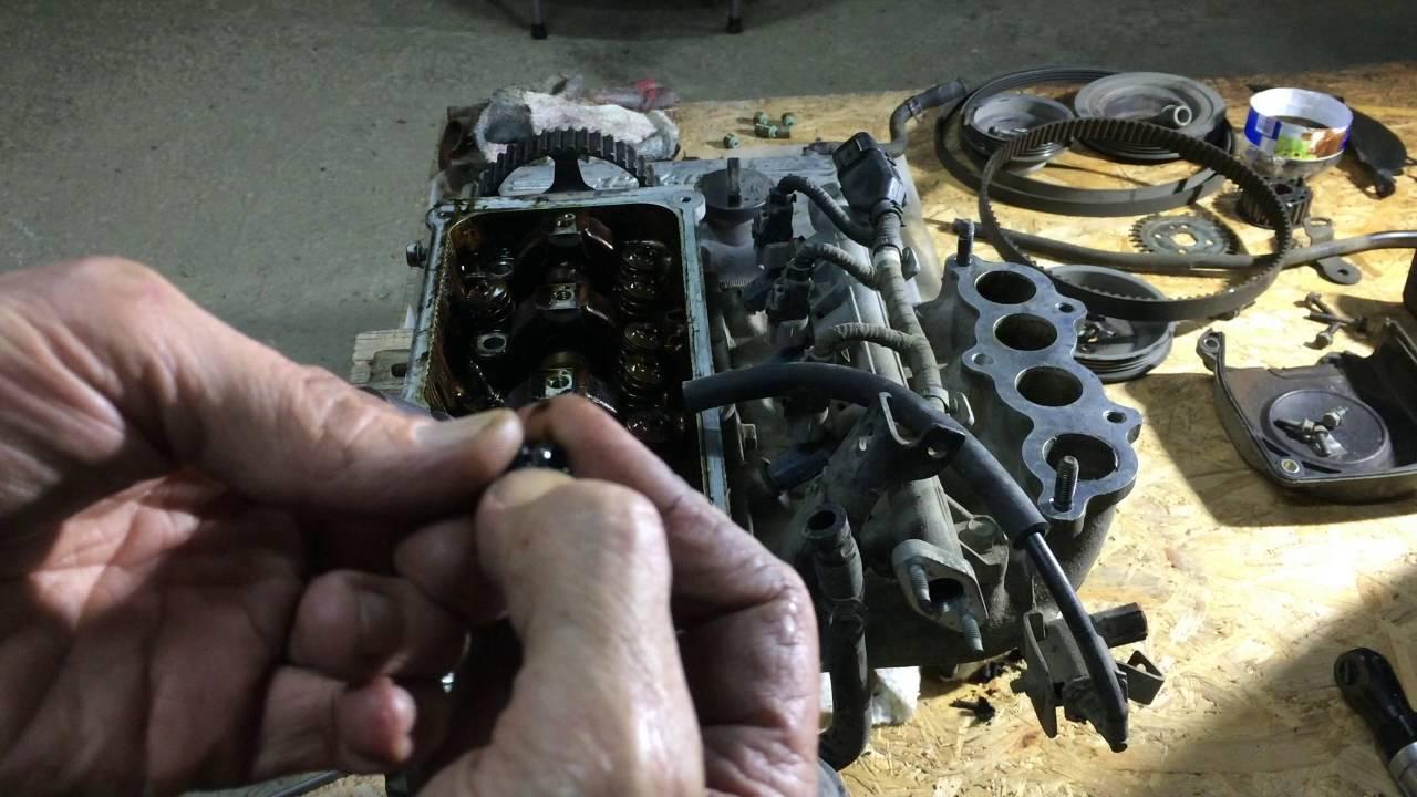 Ремонт двигателя Киа Пиканто 2006 года  KIA Picanto  2часть