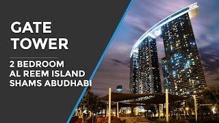 The Gate Tower 2 Bedroom Apartment Al Reem Island Shams Abu Dhabi