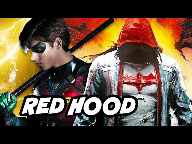 Titans Episode 5 - Nightwing Jason Todd Fight Scene and Batman Red Hood Theory