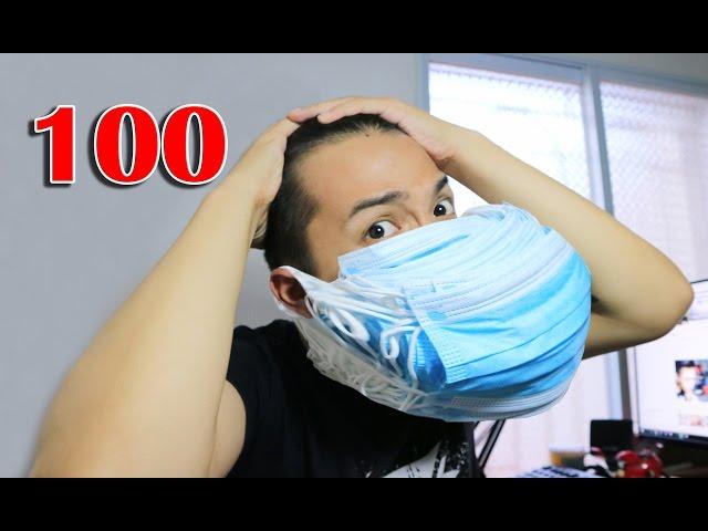 NTN - Đeo 100 Chiếc Khẩu Trang