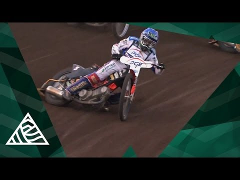Flat Track Motorcycle Racing at FIM Speedway