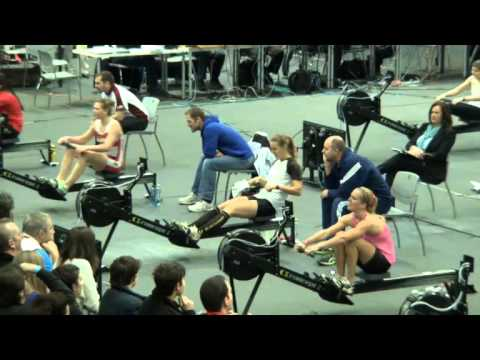 European Indoor Rowing Championships 2016 // Euro Open // LW Women // W/o Audio