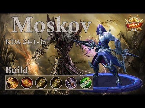 Mobile Legends: Moskov MVP, he is insane! 150k damage and 24 kills!!