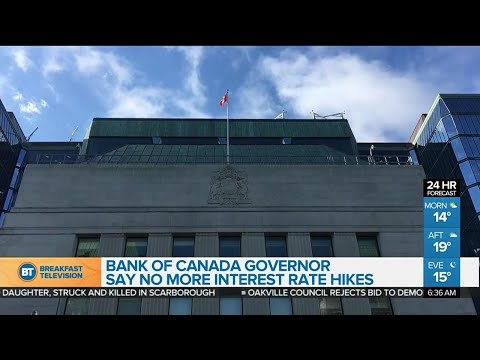 Bank of Canada to take more cautious approach to future interest rate increases