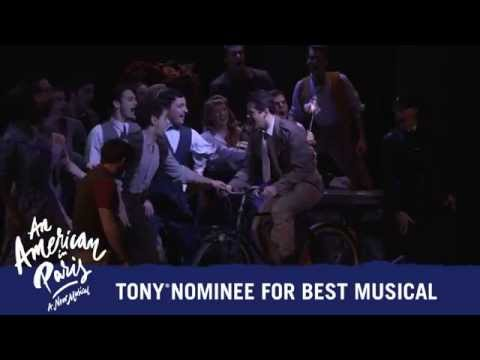 An American in Paris on Broadway - Tony® Nominee for Best Musical