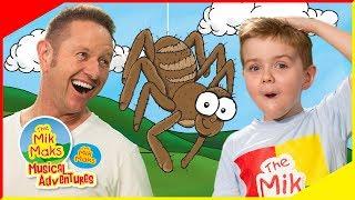 Incy Wincy Spider sing-a-long | Nursery Rhymes and Kids Songs | The Mik Maks