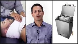 Tanque para aquecimento de compressas úmidas - HotMed - Carci