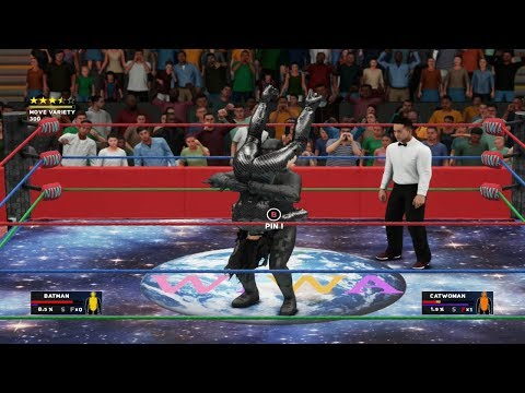 WIWA Wrestling Match #247: Batman vs Catwoman from YouTube · Duration:  17 minutes 19 seconds