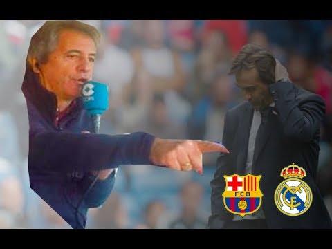 Barcelona 5-1 Real Madrid   Narración de Manolo Lama en Tiempo de Juego COPE