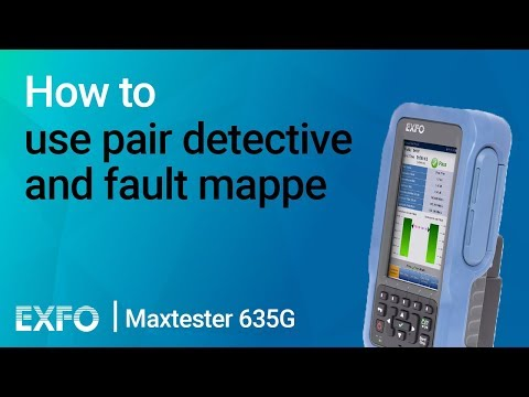 How to use pair detective and fault mapper | Maxtester 635G