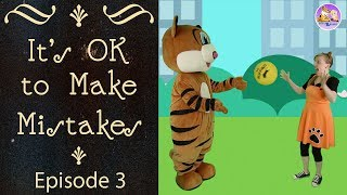 Educational videos for kids | It's OK to make mistakes | Learn resilience | Pevan and Sarah
