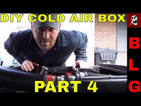 LS Swap C10 Custom DIY Cold Air Intake Box PART 4