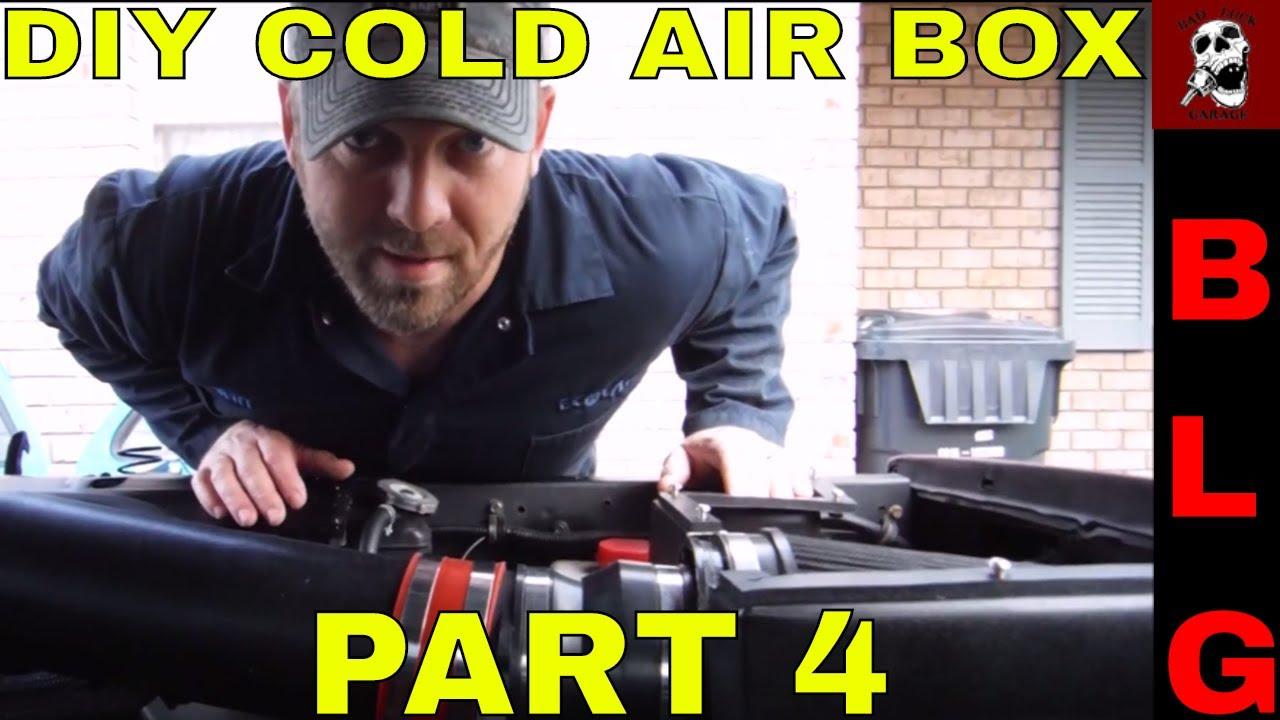 Ls Swap C10 Custom Diy Cold Air Intake Box Part 4 Youtube Ls1 Wiring Harness Kit