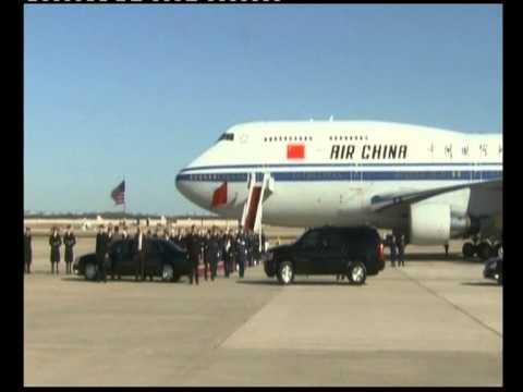 Chinese vice president Xi Jinping ARRIVES U.S.