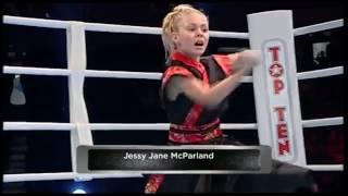 JJ Golden Dragon - Sword fight performance at World Championships Kickboxing (K1)
