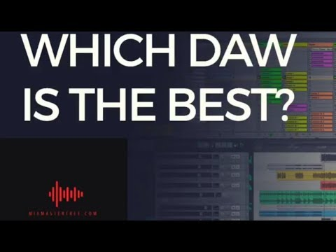5 BEST DAWS (2018) Audio Production Music Recording Program For Producers & Rappers