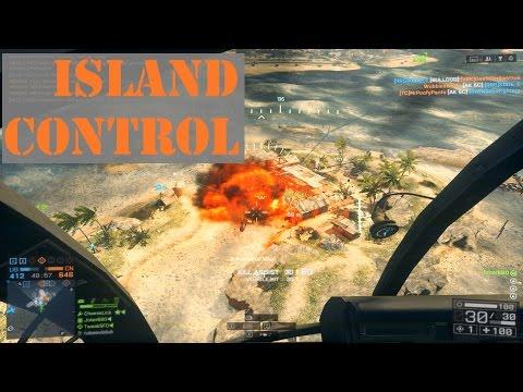 Island Control Via Chopper! BF4 Joka-Plays PC