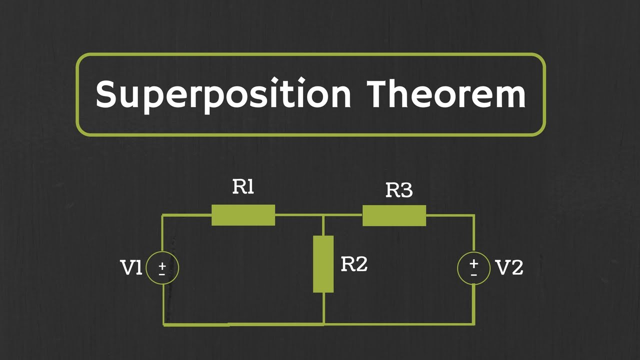 Superposition Theorem Explained With Examples Youtube 741 Opamp Voltage Amplifier Circuit Eee Community