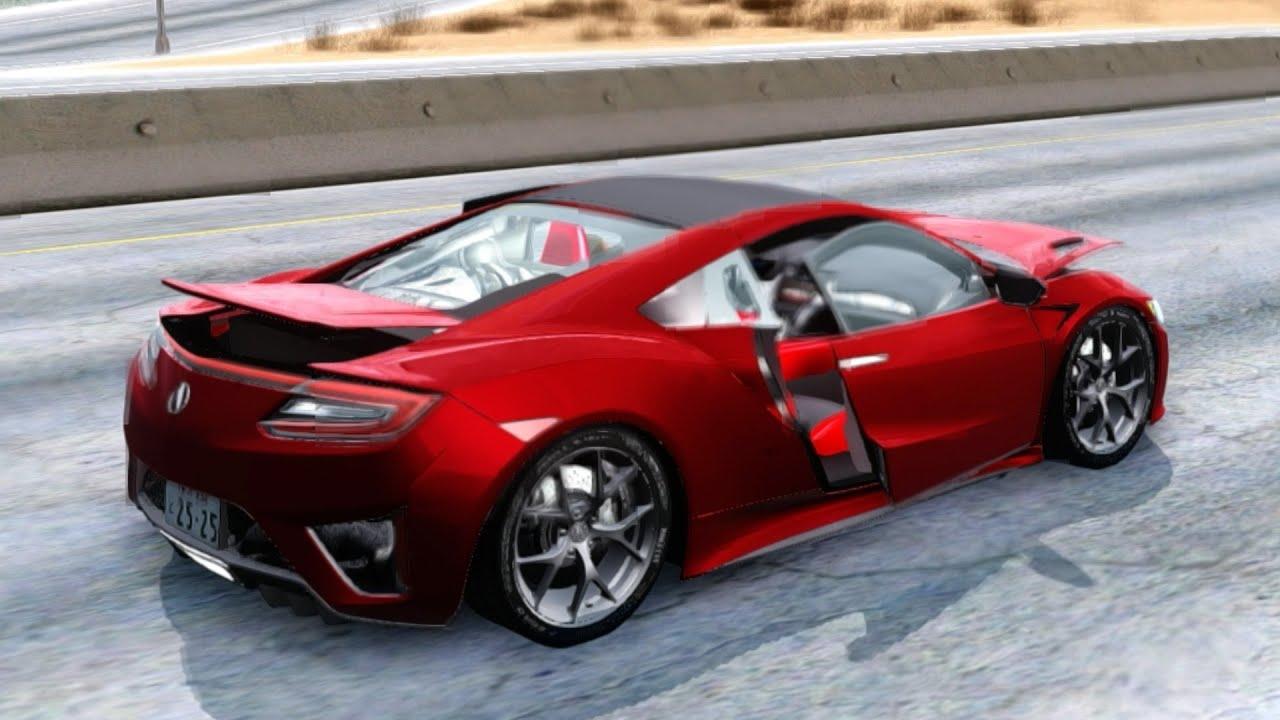 2016 acura nsx v1 0 49 new cars vehicles 7 to gta san andreas enb youtube
