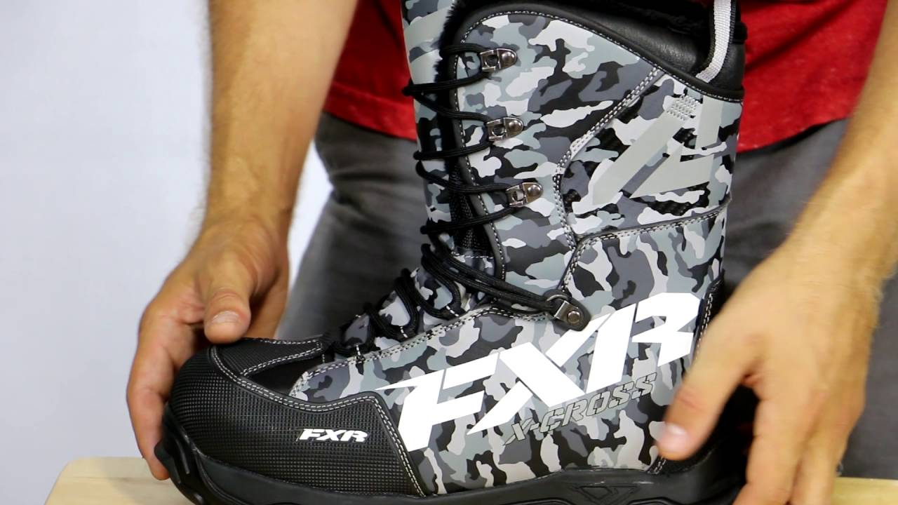 FXR X Cross Snowmobile Boot Review