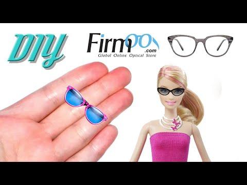 DIY Miniature Sunglasses 👓 How to Make Miniature Things Plus Firmoo Glasses