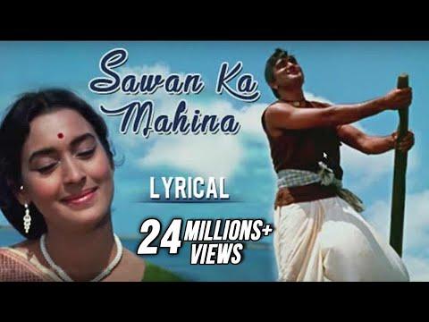 sawan-ka-mahina-full-song-with-lyrics-|-milan-|-lata-mangeshkar-&-mukesh-hit-songs