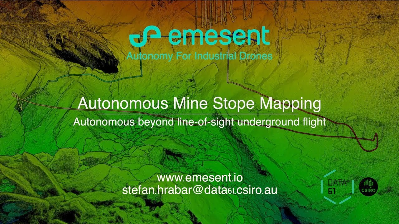 Subterranean drone mapping startup Emesent raises $2 5M to
