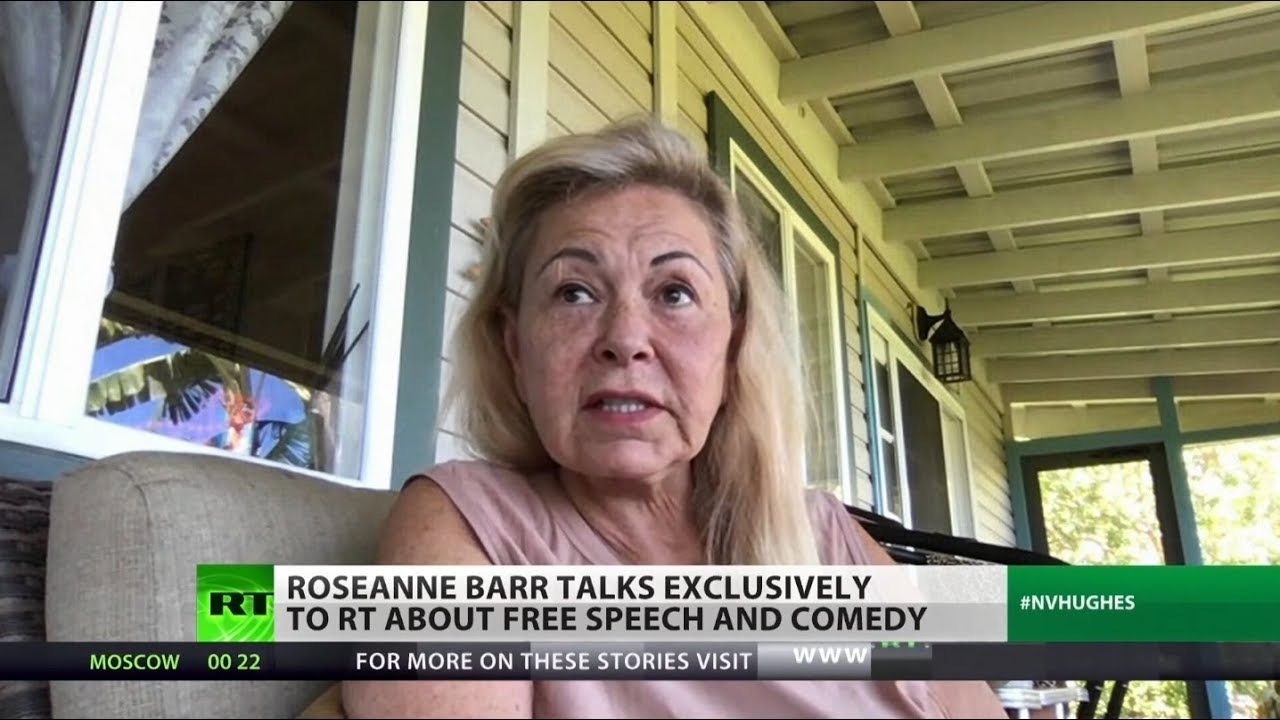 EXCLUSIVE: Roseanne Barr on media control thumbnail