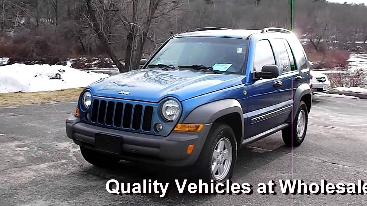 2006 jeep liberty sport 4wd 4dr suv 3.7l v6 at - youtube