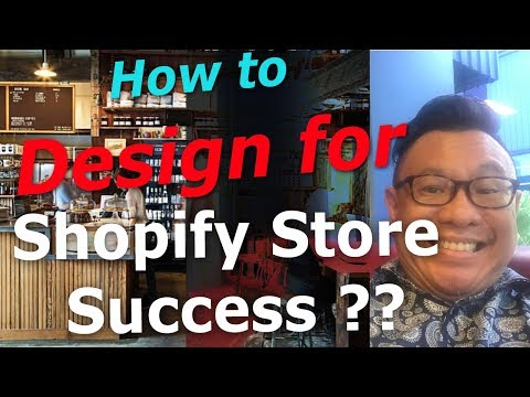 Shopify Store Success; Dropshipping Success Story,  How to design your Shopify Store for success! thumbnail