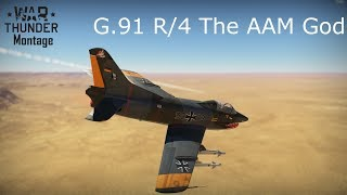 War Thunder G.91 R/4 Montage | The AAM God