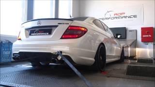 Reprogrammation moteur Mercedes C 63 AMG 457 @ 515 PS - ADP Performance