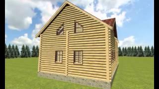Проект дома из бревна(http://44srub.ru., 2013-09-13T18:40:54.000Z)
