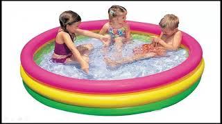 Intex Portable Swimming Pool    Swimming Pool for Kids