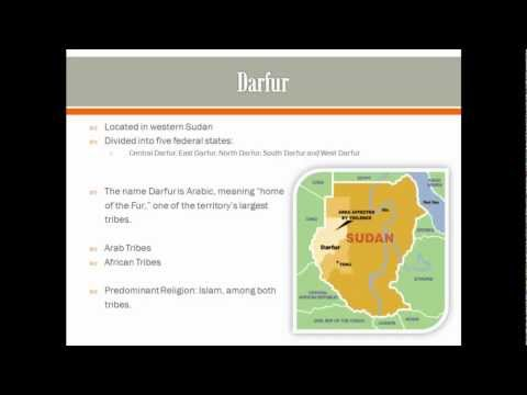 Analyzing the Media: Darfur Genocide