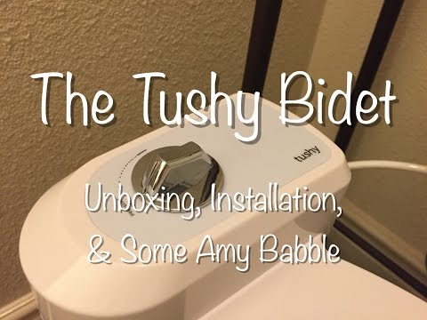 Tushy Bidet - Unboxing & Installation